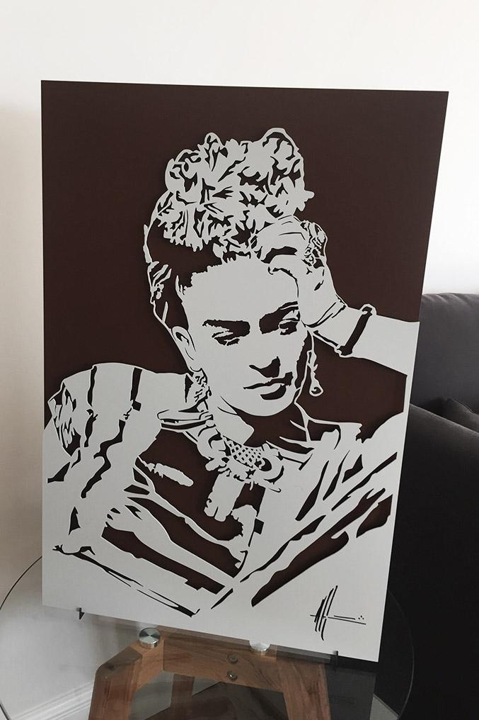 Michel Audiard Sculpteur Passages Frida Khalo