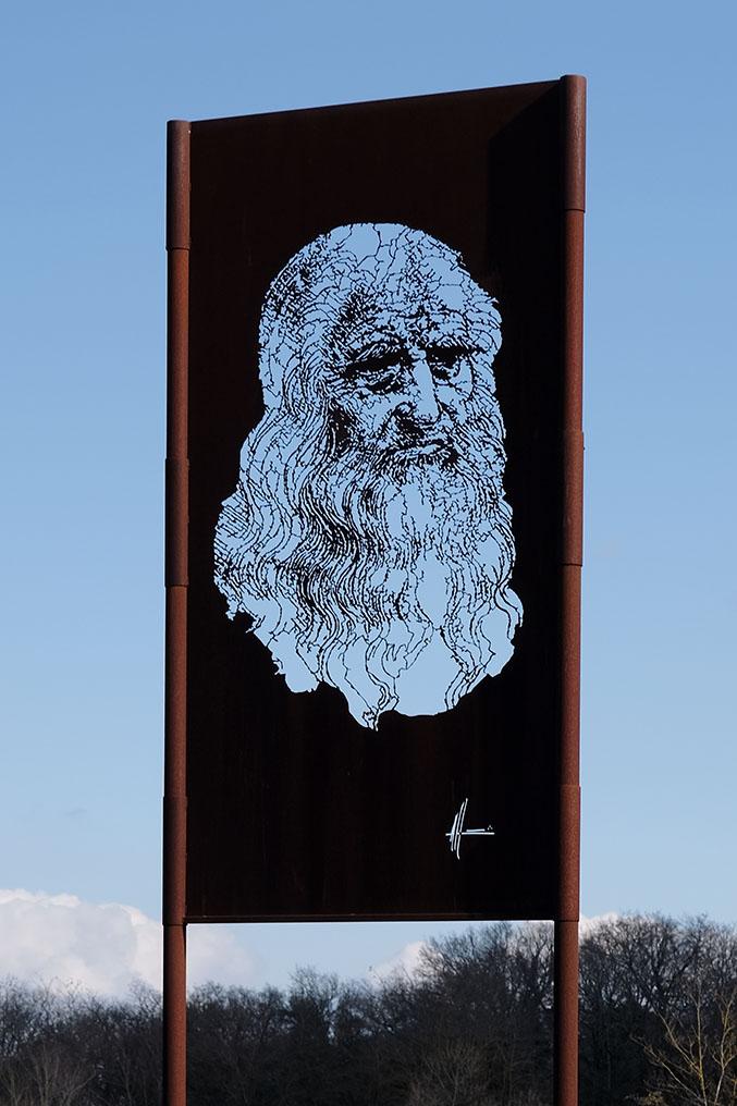 Michel Audiard Sculpteur Passages Léonard de Vinci