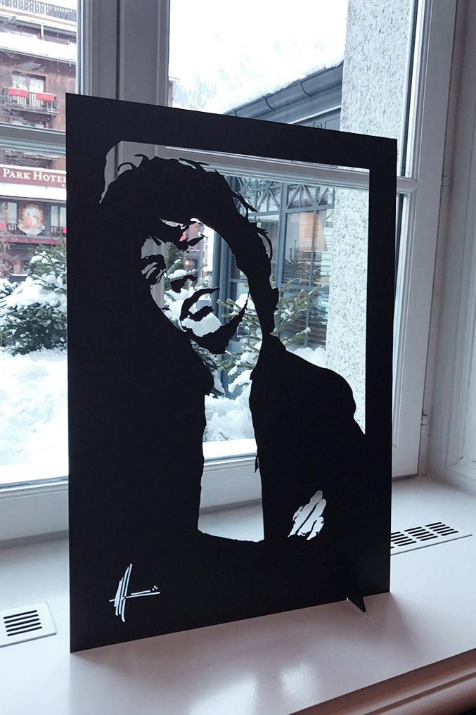 Michel Audiard Sculpteur Passages Mick Jagger